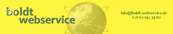 Logo Boldt Webservice